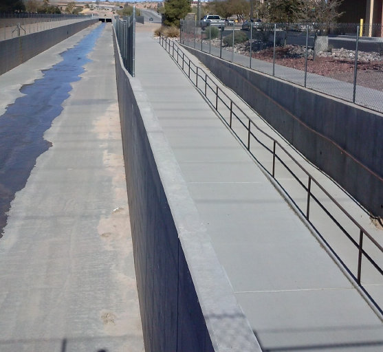 Abbot Wash Civil Engineering Project - Mesquite, Nevada
